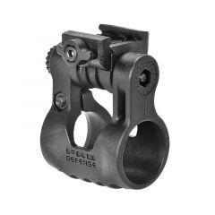 Rotační montáž na svítilnu FabDefense PLR 25 mm, černá