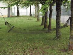 Houpací síť Mil-Tec nylonová, olivová