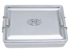 Voděodolný přepravní box MFH, stříbrný