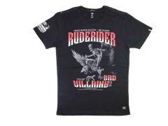Pánské tričko Yakuza Premium Ruderider 2807, černé