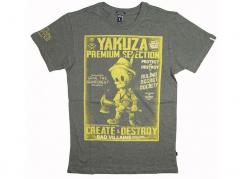 Pánské tričko Yakuza Premium 2801, tmavě olivová