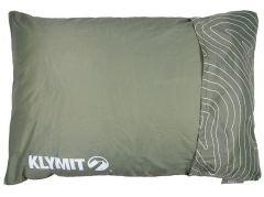 Polštář Klymit Drift Camp Pillow Large, zelený