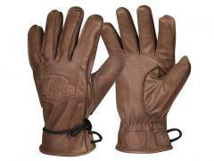 Helikon rukavice Ranger Winter, hovězí kůže, hnědá