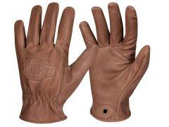 Helikon rukavice Lumber, hovězí kůže, hnědá