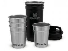 Sada 4 panáků Stanley Adventure Series, černá