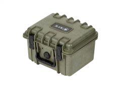 Voděodolný box MFH, 26,7x23,9x18cm, olivový