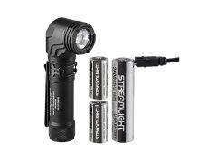 PROTAC 90 X USB - Pravoúhlá taktická EDC svítilna - černá