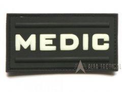 Nášivka MEDIC černá