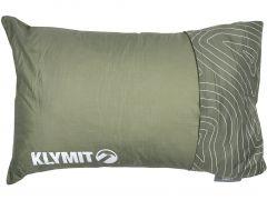 Polštář Klymit Drift Camp Pillow, zelený