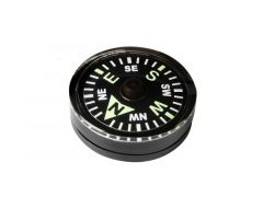 Knoflíkový kompas Helikon velký, černá